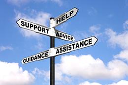 advice help sign