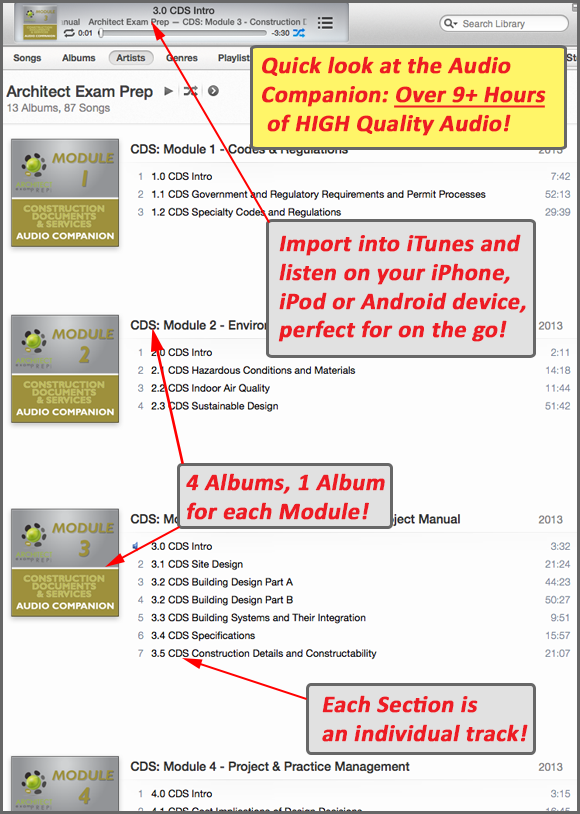 sample itunes cds