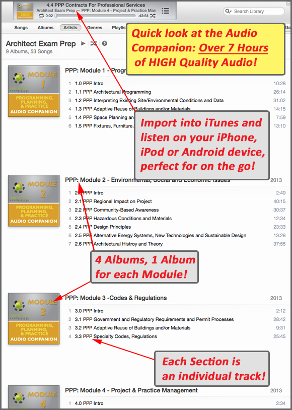 sample itunes ppp