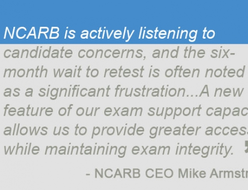 5 Reasons Why NCARB's New 60 Day Retake Rule Is a Game Changer
