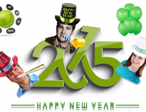 Happy New Year from David, Eric, and Aubrey!
