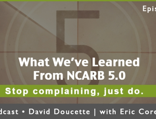 Episode 37: What We've Learned From NCARB 5.0