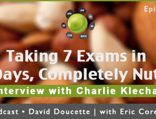 Episode 16: Taking the ARE: 7 Exams In 7 Days, Completely Nuts? [Podcast]