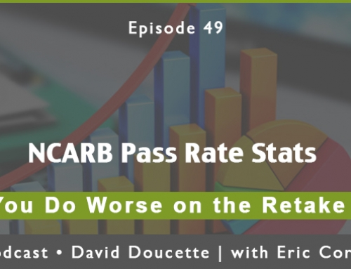 Episode 49: NCARB Pass Rate Stats